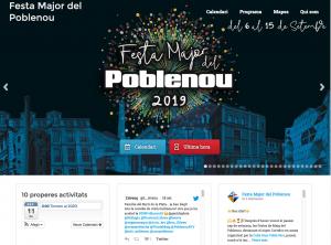 Sitio oficial, página para visitantes